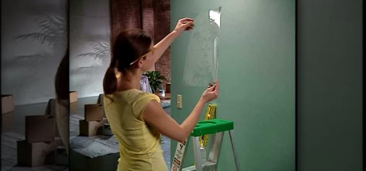 How To Stencil Paint Your Walls With Help From The Home Depot Interior Design Wonderhowto
