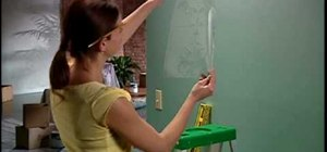 Stencil paint your walls with help from the Home Depot