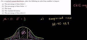 Use the Empirical Rule w/ standard normal distribution