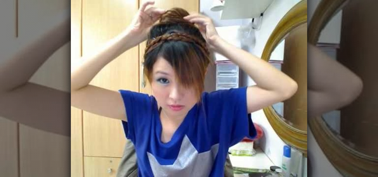 How To Do A Basic Japanese Bun Hairstyle Hairstyling WonderHowTo