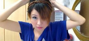 Do a basic Japanese bun hairstyle