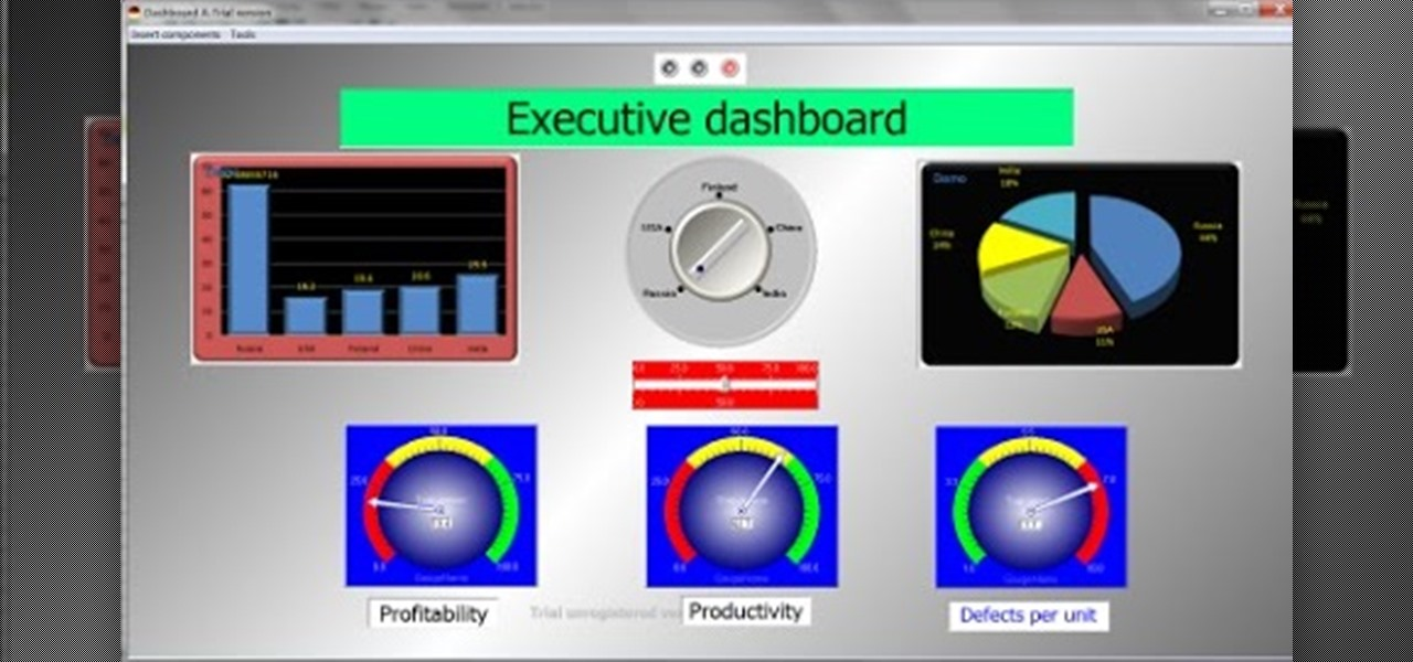 Why Aren't TRUE Excel Based Dashboards More Prevalent