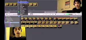 How to Clone (Duplicate) Yourself Using iMovie 11or 09 (no downloads) Green Sc
