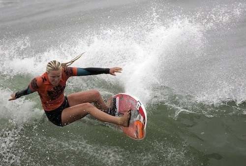 Felicity Palmateer Shreds in Huntington