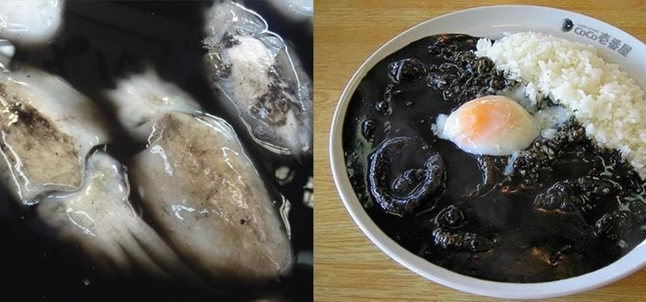 Squid Ink Is the New Black