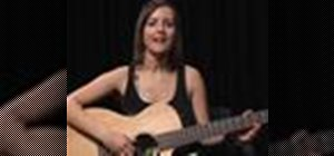 """Play """"I Gotta Feeling"""" by the Black Eyed Peas on acoustic guitar"""