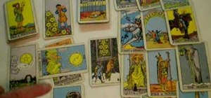 Perform a Tarot reading using a variation of the Celtic Cross spread