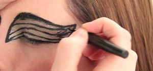 "Create Natalie Portman's avian inspired ""Black Swan"" makeup look"