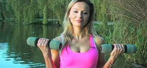 Do a simple arm workout for women to tone biceps and triceps