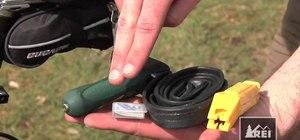 Pack your saddlebag effectively for a triathlon