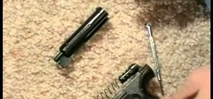 Make an airsoft gun more powerful by upgrading the spring