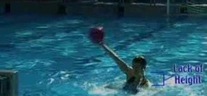 Shoot in water polo