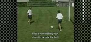 Practice the strike & move soccer drill