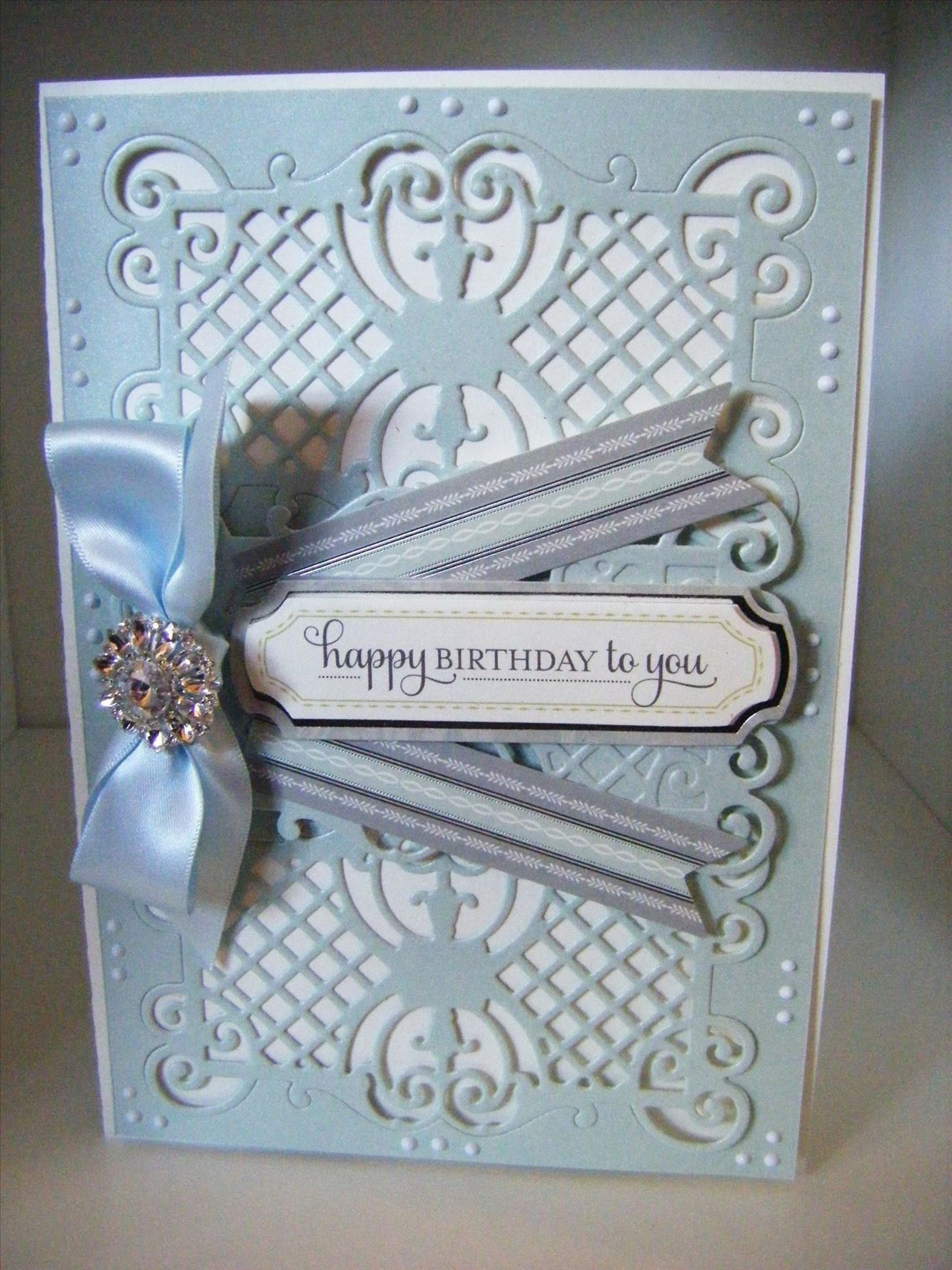 How to Make Double Ornate Fretwork Card