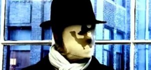 Make a Rorschach mask effect from the Watchmen