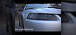 Replace the headlights on a 99-04 Mustang