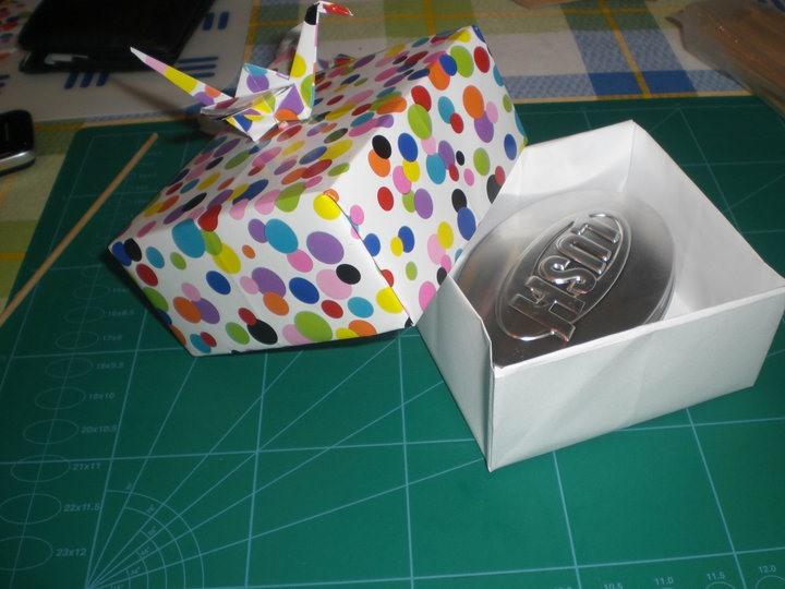 Fresh Folds: Origami-style Gift