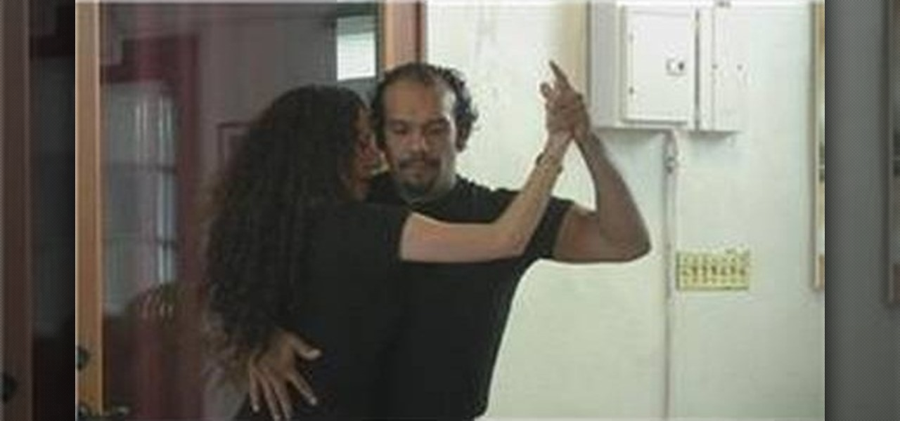 Do Bachata Closed Position X on Square Dance Basic Steps