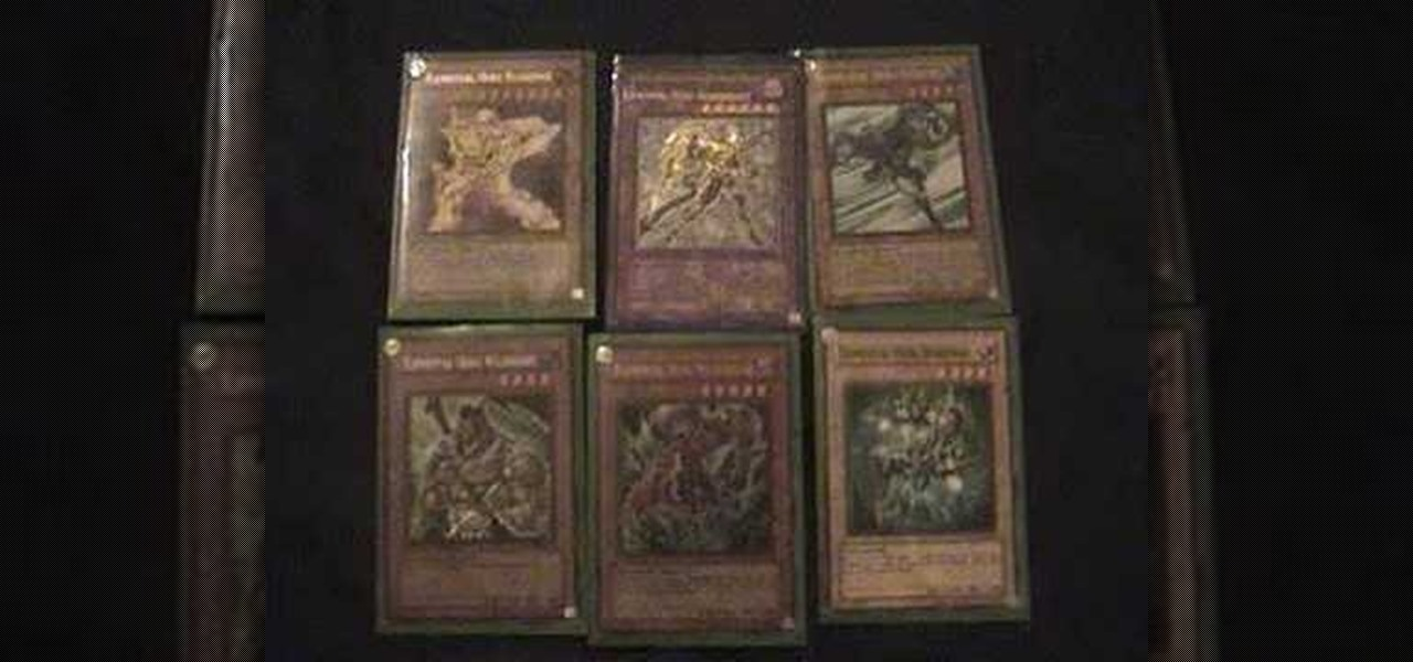 How to make a diy cardboard deck box for yu gi oh cards card how to build an awesome yu gi oh deck called no city ccuart Choice Image