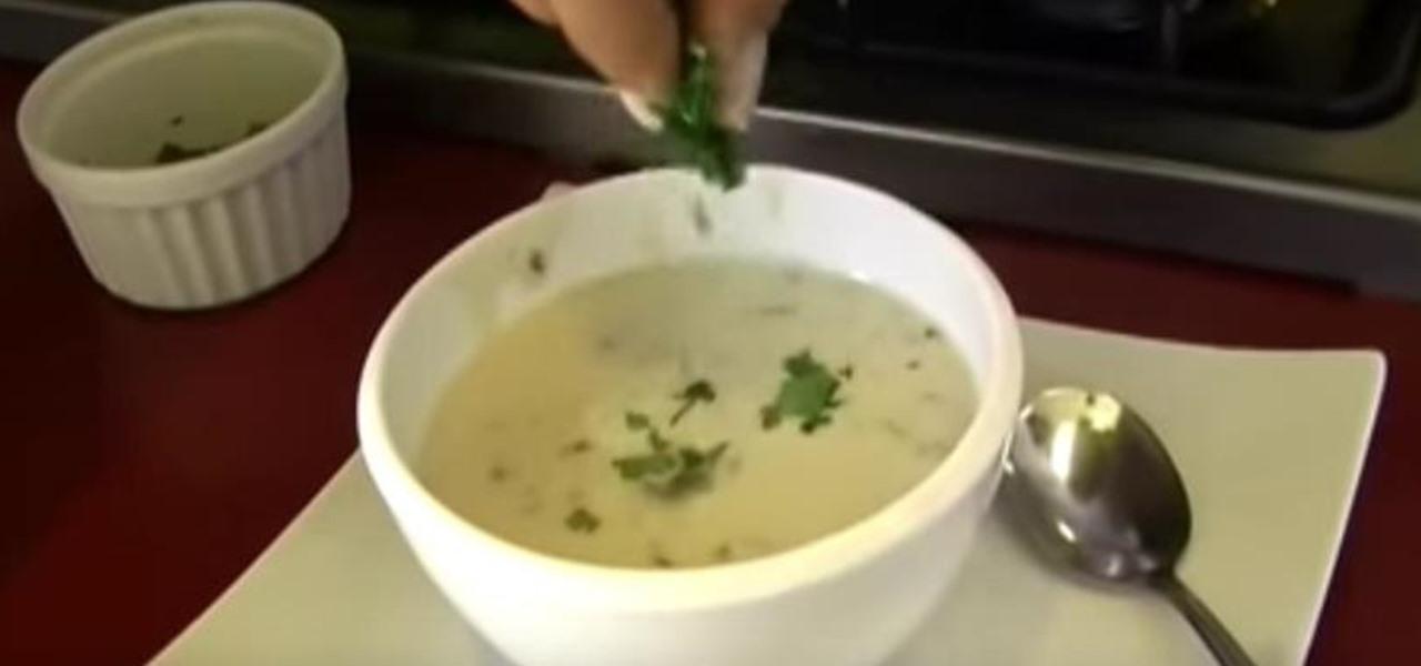 Make Homemade Mushroom Soup