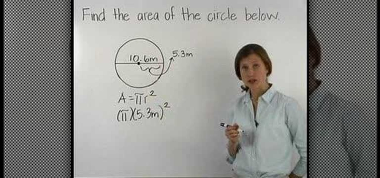 How to find the area of a circle when you know the diameter math how to find the area of a circle when you know the diameter math wonderhowto ccuart Image collections