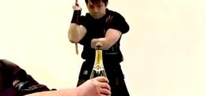 Martial Arts Master Opens Bottles and Plays Sports With Nunchucks