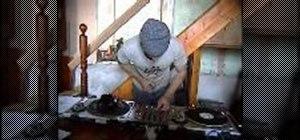 Monitor when DJing using headphones