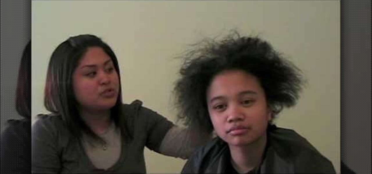 How To Straighten Short Curly Hair 171 Hairstyling