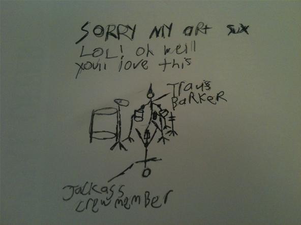Travis Barker Kick Drum Warm Up