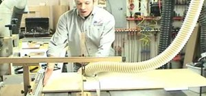 Build a table saw crosscut and miter sled