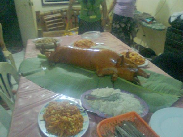 Roasted Pig Makes Me Homesick.