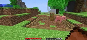 Ride a Piggy in Minecraft