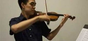 Play Zelda Lost Woods on violin