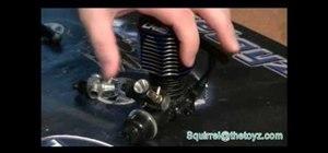Tune a RC nitro Engine