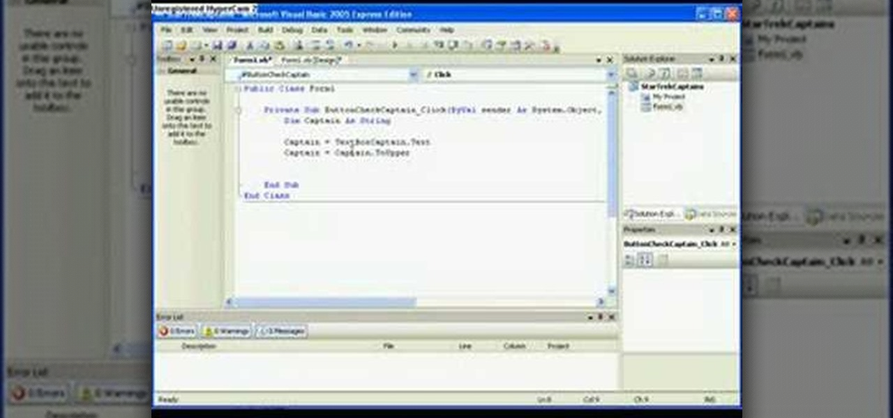 Quick Start Visual Studio 2008 Learning Guide