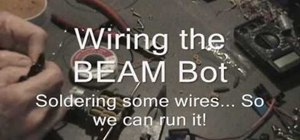 Build a beam bot twin motor robot base