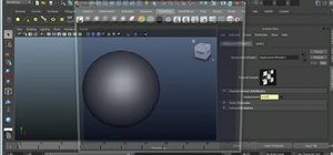 Using displacement and bump mapping in Maya 2011