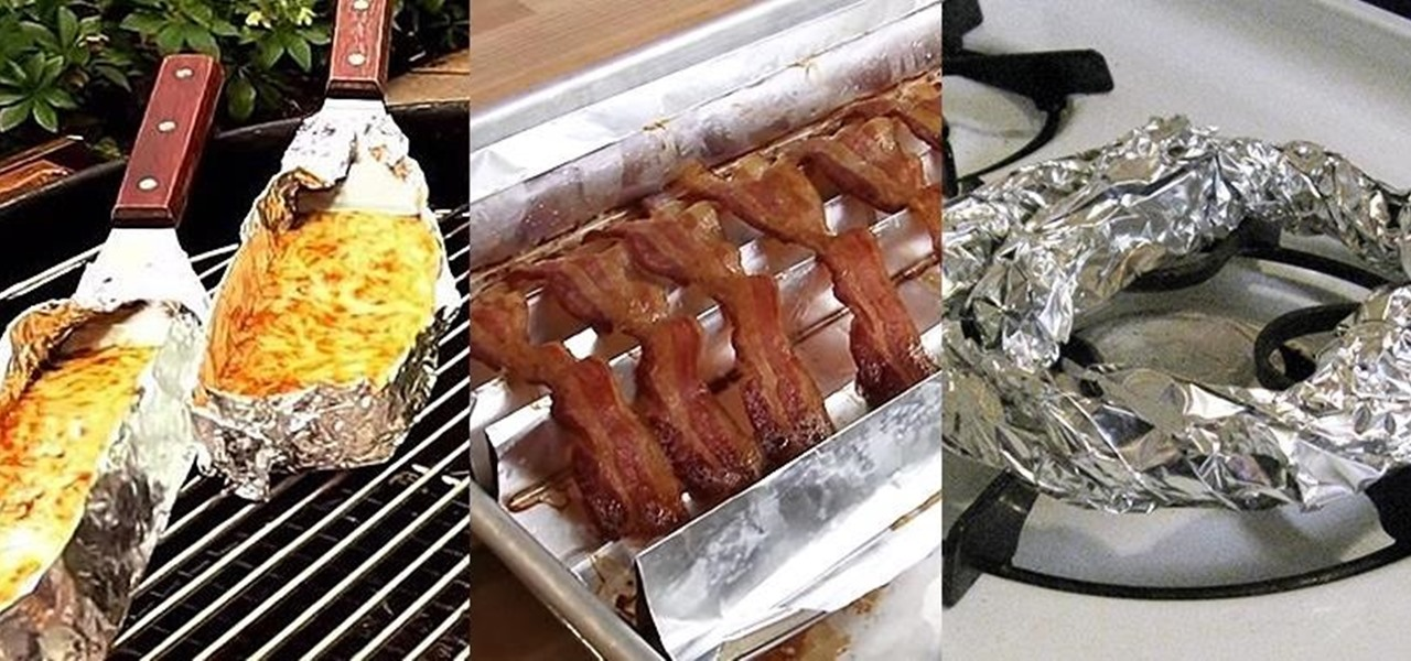 Pics for aluminum foil food for Cuisine aluminium