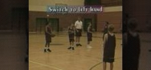 Practice 3 point moving dribble basketball drills