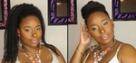 How to Make a Faux Ponytail or Bun for Natural Hair
