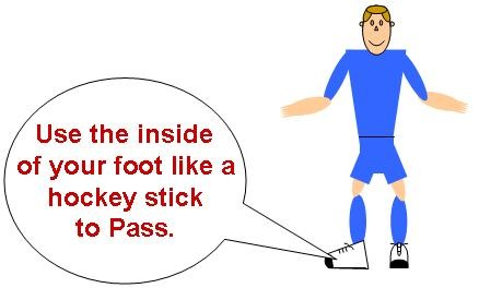 How to Pass A Soccer Ball With The Inside Of Your Foot