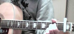 "Play The Beatles ""Strawberry Fields Forever"" on guitar"