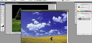 Replace a dull sky in Photoshop