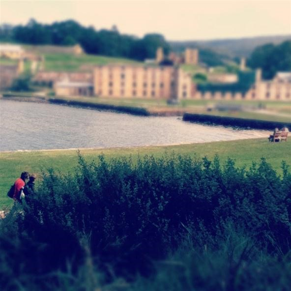 Sweeping view of Port Arthur..