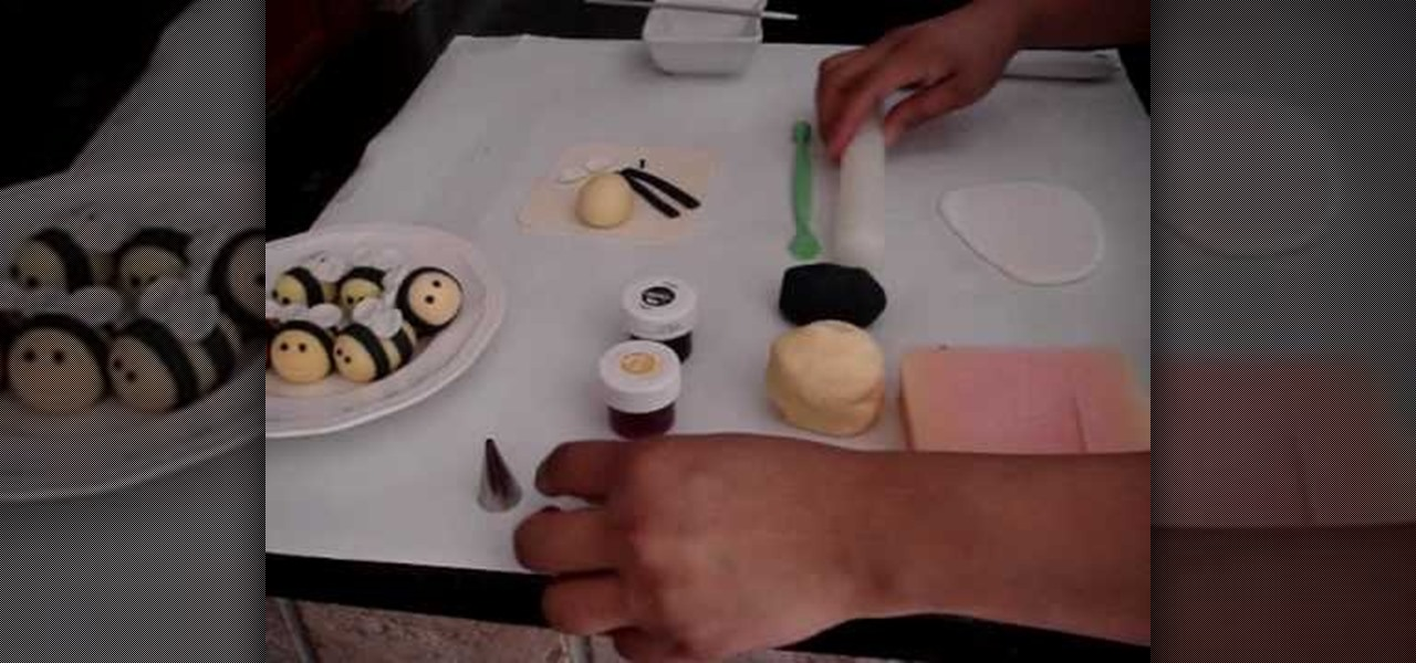 How To Make A Fondant Bumble Bee For Cake Decorating WonderHowTo