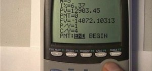 Calculate compound interest using a TI-84 and solver