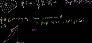 Use Green's Theorem to solve a line integral