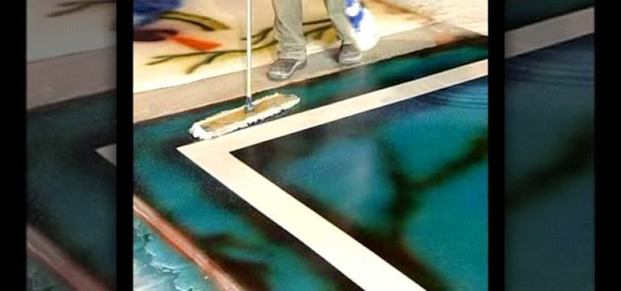 Applying micro fiber to concrete home design idea for Mop on concrete floor wax