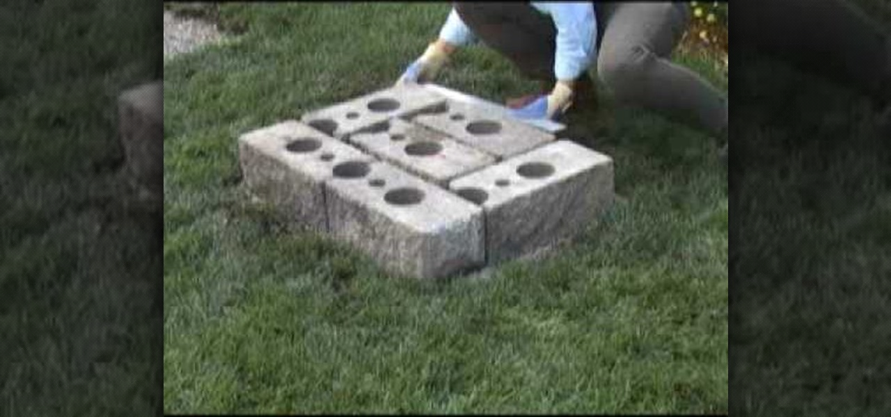 How to build a garden bench out of cinder blocks for How to build a cinder block house