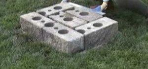garden bench repair